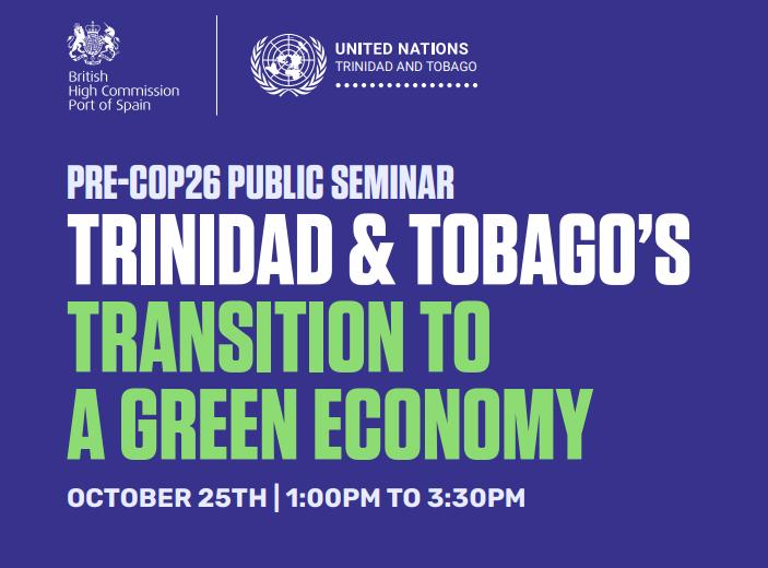 Register now for Pre-COP26 Seminar